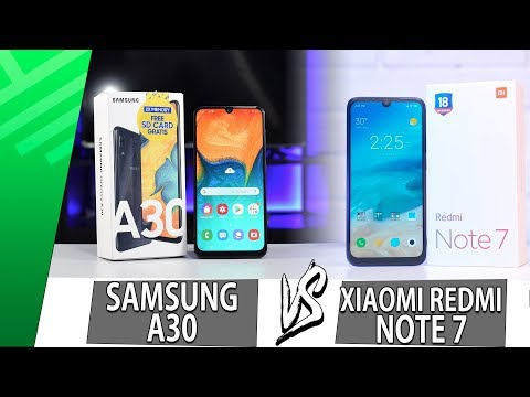 Samsung A30 VS Xiaomi Redmi Note 7 | Enfrentamiento | Top Pulso