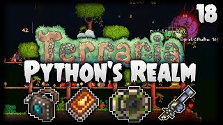Terraria Let's Play (1.3.5) | The Clentaminator & Golden Shower! | Python's Realm [S2 - Episode 18]