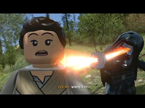 LEGO Star Wars: The Force Awakens (Vita/3DS) - Chapter 6 100% Guide - Attack on Takodana