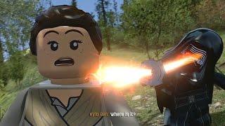 LEGO Star Wars: The Force Awakens (Vita/3DS) - Chapter 6 100% Guide - Attack on Takodana