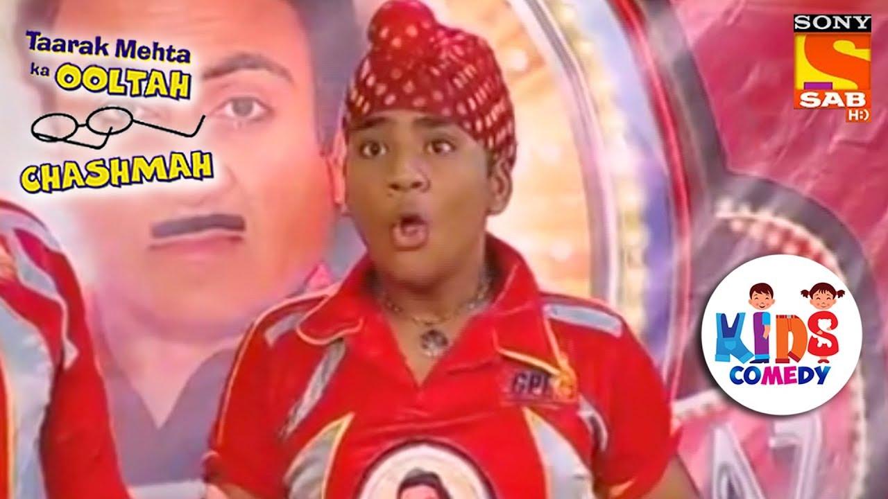 Jethalal Dedicates A Six To Goli | Tapu Sena Special | Taarak Mehta Ka  Ooltah Chashmah