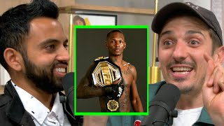 Schulz Reacts: Stylebender DOMINATES Paulo Costa | Andrew Schulz and Akaash Singh