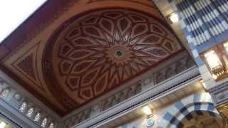 القبه المتحركة في المسجد النبوي الشريف