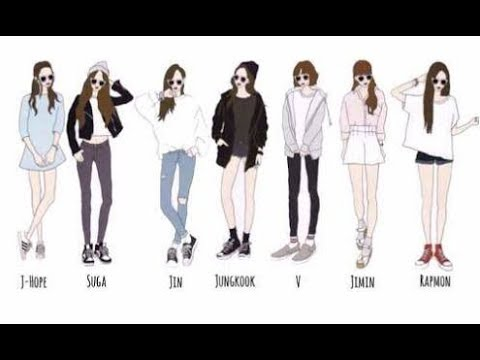 3068304b9 BTS  Ideal Types of Girlfriends Each Member Wants - YouTube