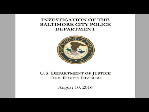 The DOJ Report on the Violation of Constitutional Rights in Baltimore