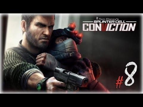 Смотреть прохождение игры Splinter Cell: Conviction. Серия 8 - Долгожданная встреча.