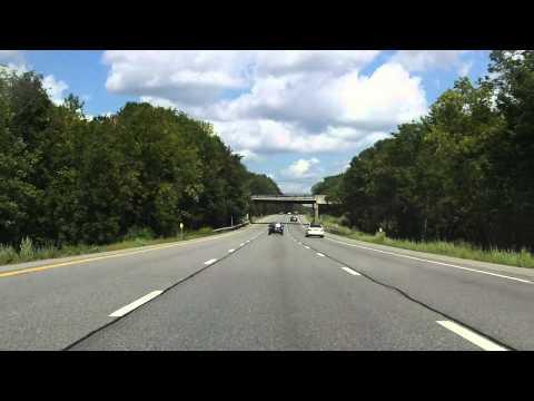 Adirondack Northway (Interstate 87 Exits 11 to 15) northbound