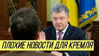 Конфликт в Керченском проливе: Порошенко передал Путину 'две плохие новости'