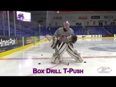 Goaltender Drill of the Month: Box Movement Drill