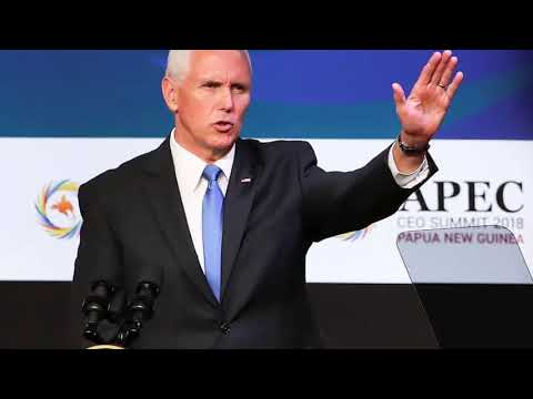 ❗ HOT ❗ Mike Pence challenges China at Asia Pacific economic summit [ Today's News]
