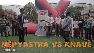 Nepyastra Vs Knave - Raw Barz (Rap Battle 2014)