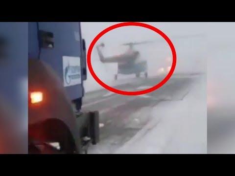 Летчики-герои посадили вертолет в страшную метель и без бензина. Спасли пассажиров