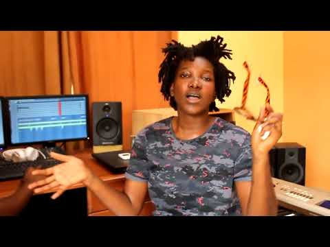 Ebony Reigns Studio Session With Scripcha and Korporate Beats