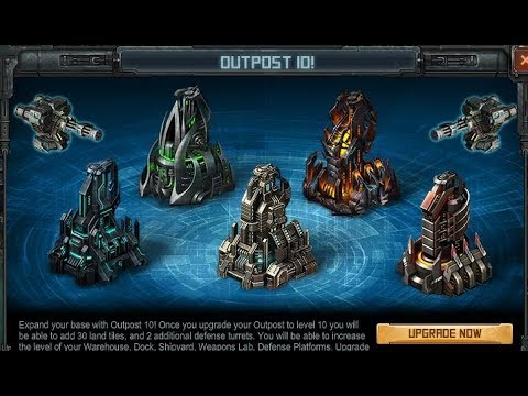 Base Clinic [Guide to Outpost 10 upgrades] Battle Pirates ...