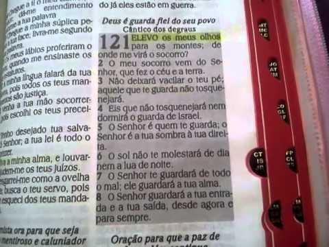 leitura diaria da biblia Salmo 121 - YouTube