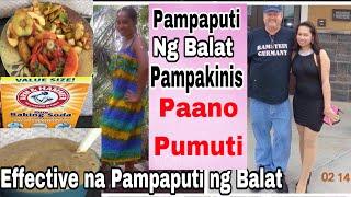 Pampaputi ng Balat Gamit ang Baking Soda at Balat ng Prutas|Pampaputi ng Mukha|PaanoPumuti|Pampaputi