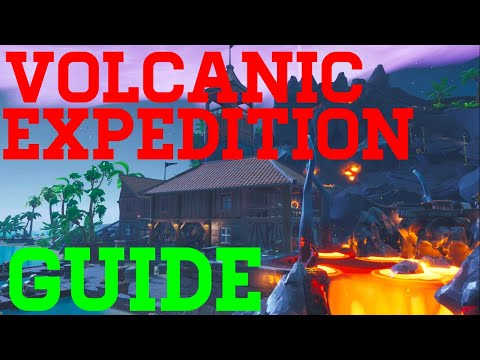 How To Complete Volcanic Expedition By PineappleMadness - Fortnite Creative Guide
