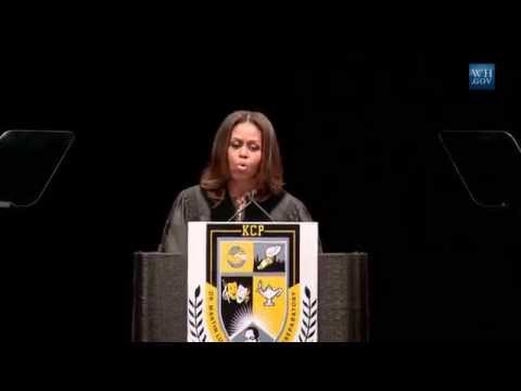 Michelle Obama On Race & Success At Chicago HS Graduation- Full Speech