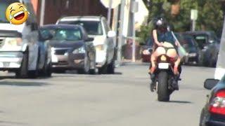 MOTORCYCLE UBER PRANK! Part 1