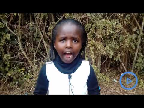 Meet 8-year-old girl who moved mourners with a poem during governor Gachagua's funeral