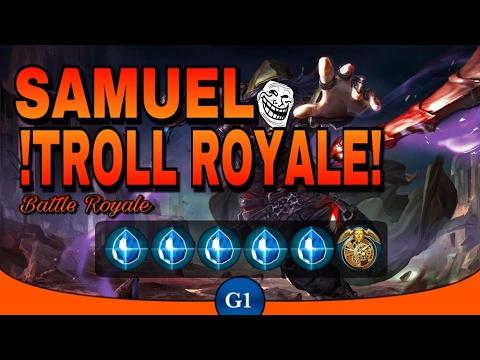 VAINGLORY: Samuel Shatterglasses Troll Build | No Way Back || Troll Royale Ep1 |