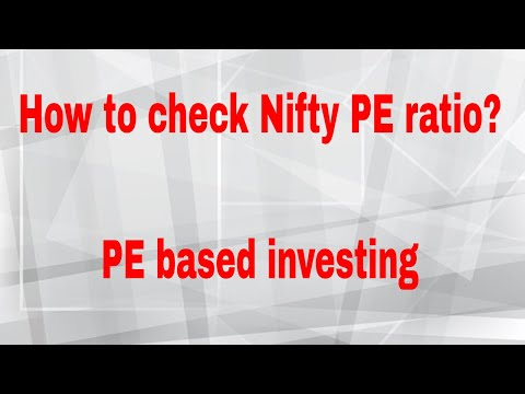 How To Check Nifty 50 PE Ratio | PE Based Investing
