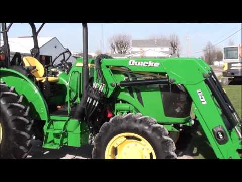 2015 John Deere 5085E 4x4 with Loader For Sale by Mast