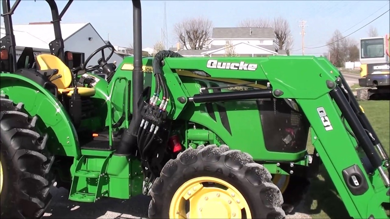 2015 John Deere 5085E 4x4 with Loader For Sale by Mast Tractor!