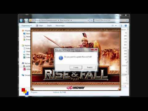 How to install Rise & Fall Civilizations At War on Windows 7