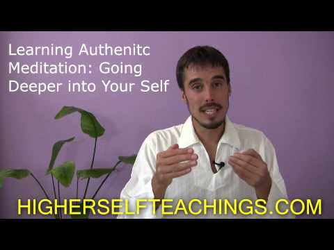Learn Authentic Meditation - Workshop -- Zurich, July 20, 2013