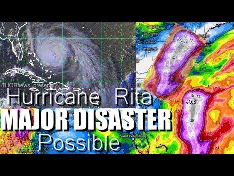 Hurricane Maria - MAJOR DISASTER possible 40 inches of Rain along East Coast