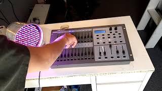 Review showtec SC-2412 lichtsturing op dmx uitleg Nederlands