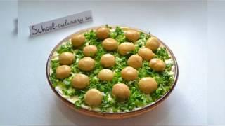 Салат с консервированными шампиньонами - school-culinary.ru