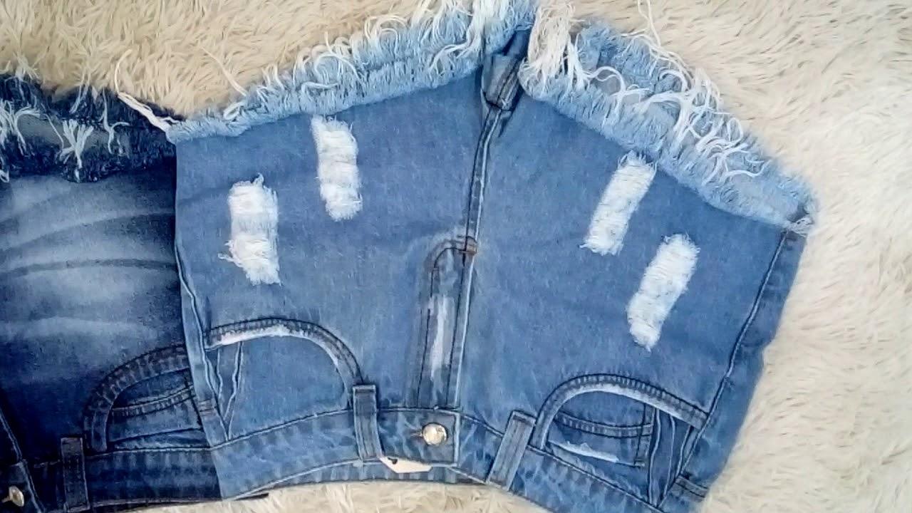 97111d8b6 Shorts Jeans no Atacado - Fábrica em Fortaleza no Ceará - YouTube