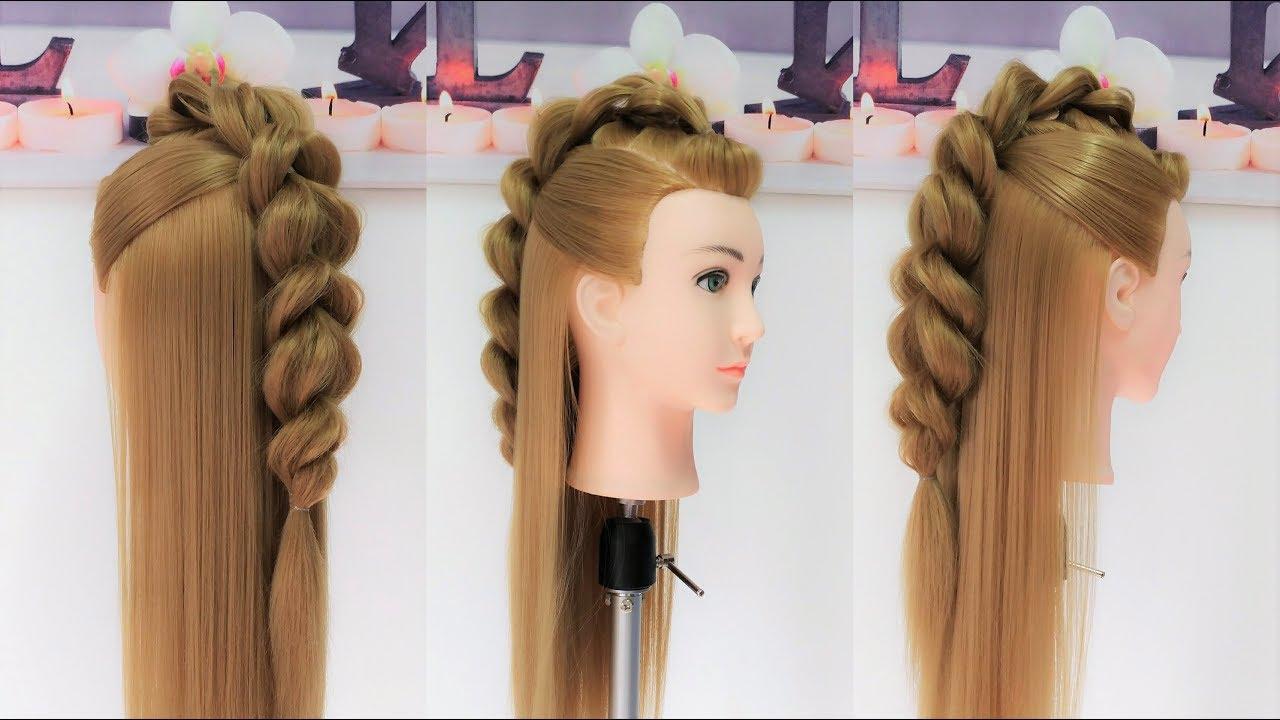 Peinados de la garza vikingos