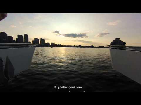 Lynn Ferry Time Lapse - Boston and Back