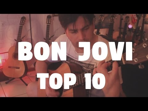 Bon Jovi Top 10 on Fingerstyle by Fabio Lima