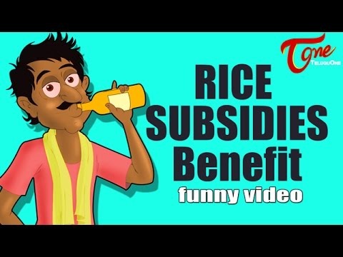 Rice Subsidies Benefit | Animated Comedy Show