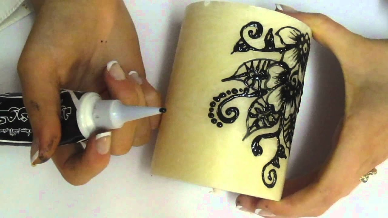 How To Henna Candle Youtube