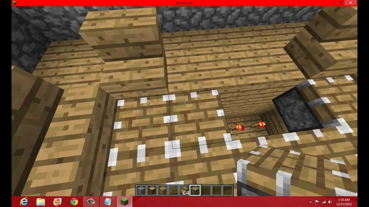 4 minecraft construction d 39 une maison moderne avec for Minecraft construction d une maison