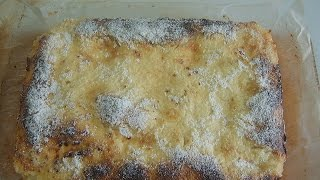 Сахарный пирог на закваске