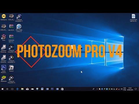 PhotoZoom Pro V4+Serial Download E Instalação