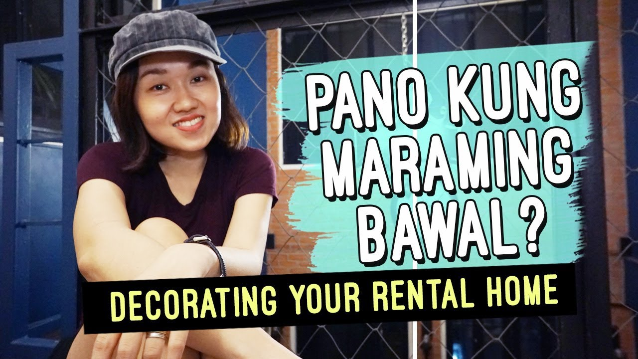 How to Decorate Your Rental Home // Tips and Hacks when You're Renting // by Elle Uy
