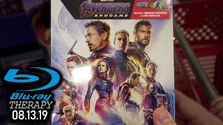 AVENGERS ENDGAME has finally hit stores!    Blu-Ray Therapy