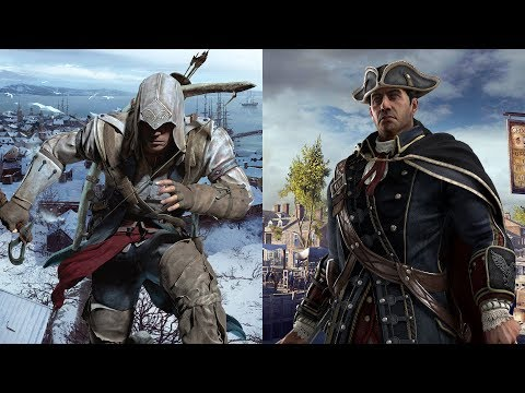 Assassin's Creed 3 - Templar And Assassin (Music Video) Amazing Slow Motion Combat & Parkour