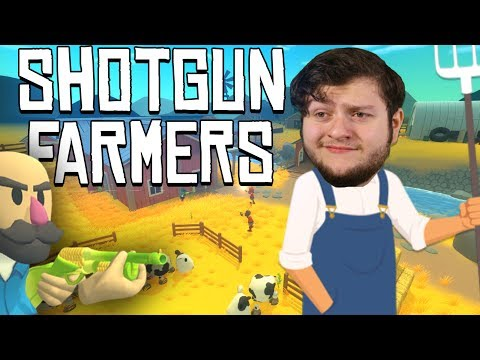 Shotgun Farmers -  Pistol, Peashooter, or Peace!!!  (Shotgun Farmers PC Online Funny Moments) gaming