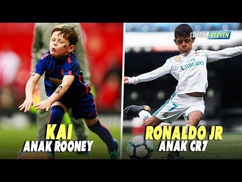 10 Anak Pemain Bola Ini Diprediksi Akan Jadi Bintang Seperti Ayahnya