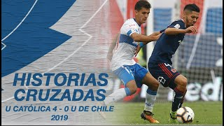 NACHO SAAVEDRA Y SU RELATO DEL 4-0 ANTE LA U (2019) | ⚪🔵Cruzados
