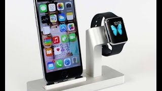 Information of Apple Watch Stand, iPhone Docking Station 2017