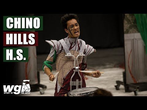 WGI 2019: Chino Hills High School - IN THE LOT